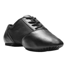 Lace up jazz shoe