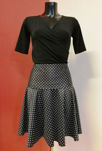 Skirt 7063 Polka dot