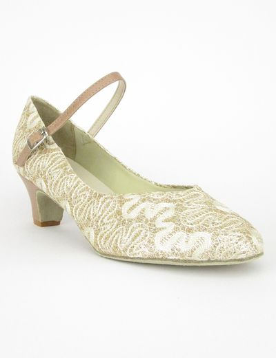SoDanca BL116 gold/lace