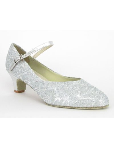 SoDanca BL116 silver/lace