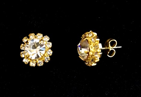 Earrings Halo
