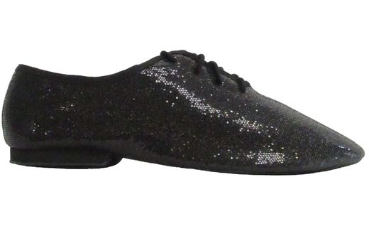 SoDanca Jazz Shoe black glitter