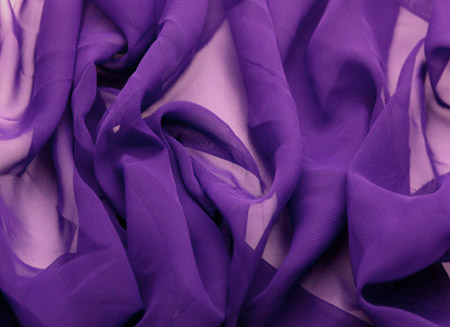 Georgette Purple Rain