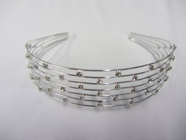 Tiara 1659 gold and silver