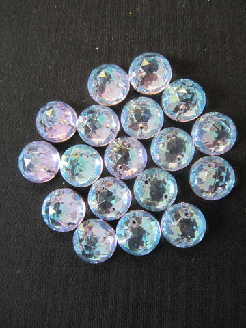 Round Crystal 13mm