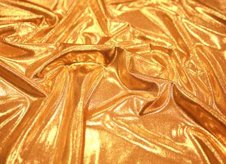 Metallic lycra Gold